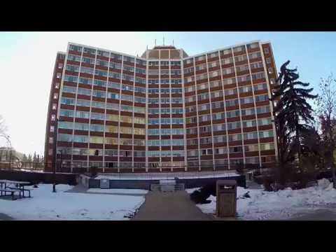 A tour of Lister Hall at UAlberta