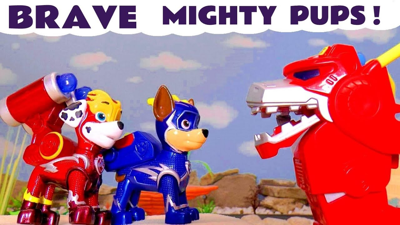 Paw Patrol Mighty Pups Charged Up Rescue with Transformers Optimus Prime Full Episode English