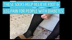Soothe Foot & Leg Pain with Diabetic Compression Socks