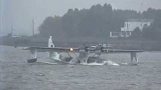 Plane Sailing PBY-5A waterlanding Antwerp