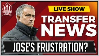 Mourinho's Transfer Frustration? Flex and Rants MUFC Transfer Talk