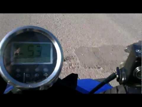 квадроцикл рысь 110, макс. скорость (ATV rys 110 ,maximum speed)