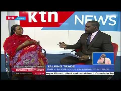 TAKING TRADE: Ambassador Amina Mohammed talk to KTN about the UNCTAD in Nairobi