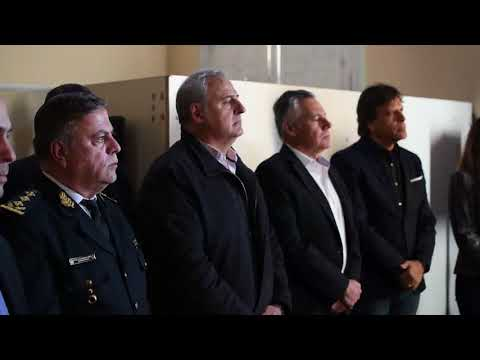 Policía De Córdoba 2018-08-16 SE INAUGURÓ LA BASE DE MONITOREO DE ALARMAS