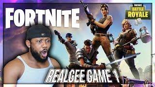 RealGee Games Live Stream - Fortnite Battle Royale