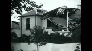 Aftermath of 1918 tornado in Melbourne (1918)