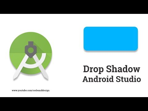 Drop Shadow in Android Studio || Material Design - YouTube