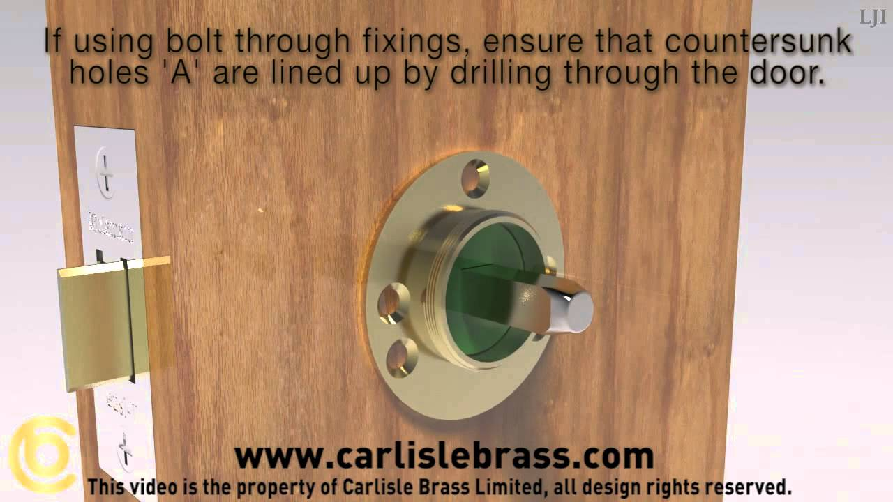 More Door Handles - Carlisle Brass Door Knob Fitting Instructions Concealed  Fix