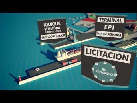 Video Corporativo Empresa Portuaria Iquique - Versión Español