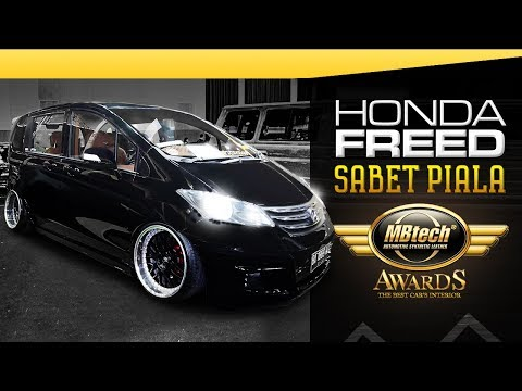 Honda Freed Sabet Piala MBtech Awards