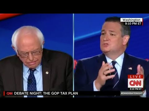 Ted Cruz BRAZENLY Lies About Corporate Tax Cuts