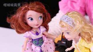 小公主苏菲亚与安柏公主为王子准备生日礼物
