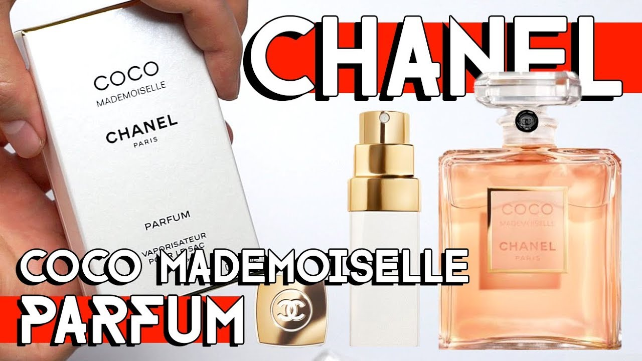 e15855d45fb CHANEL COCO MADEMOISELLE PARFUM UNBOXING & REVIEW - YouTube