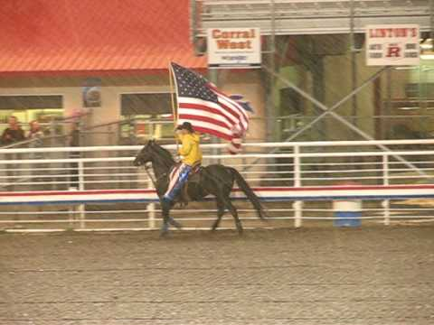 Cody Rodeo - The Star Spangled Banner