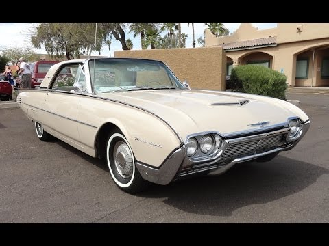 1961 Ford Thunderbird T Bird Hardtop @ AZ Fountain Hills Car Show - My Car Story with Lou Costabile