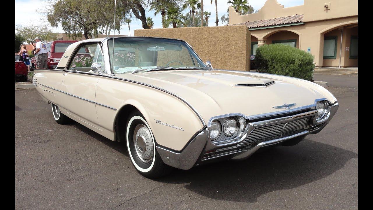 1961 Ford Thunderbird T Bird Hardtop Az Fountain Hills Car Show My Story With Lou Coile You