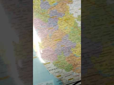 How many Districts are there in Karnataka with Map
