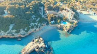 Playa Tamarit. DJI Phantom. Tamarit Park. Drone. Tarragona.