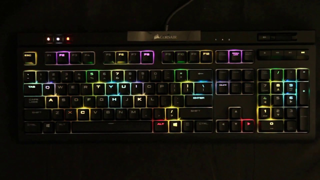 Hard Reset Corsair Keyboard
