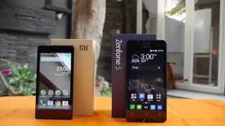 Xiaomi Redmi 1S VS ASUS Zenfone 5 (Indonesia)