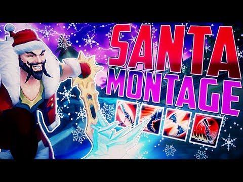 NEW SANTA DRAVEN MONTAGE I 1.500.000 MASTERY POINTS! I INSANE 1 SHOTS I