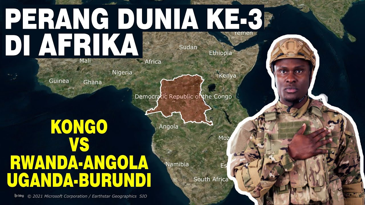 Perang kongo pertama (1996-1997) part-1