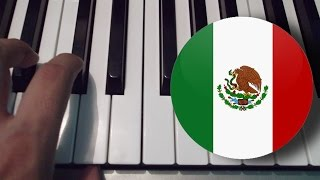 Himno Nacional Mexicano / Piano Tutorial