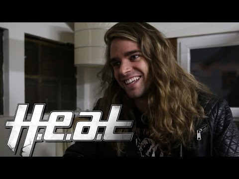 Interview H.E.A.T, Crash - La Flèche d'Or, Paris 2014 (french subtitles) Touring Down The Walls