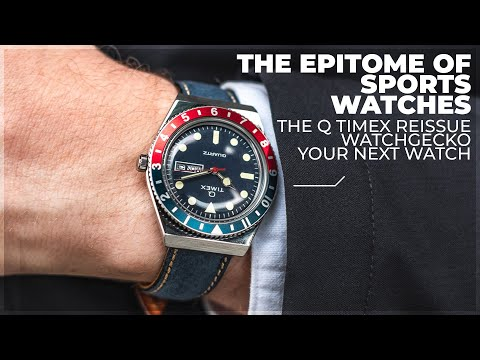 The Epitome Of The Sports Watches Trend | The Q Timex Reissue Review | WatchGecko Your Next Watch.