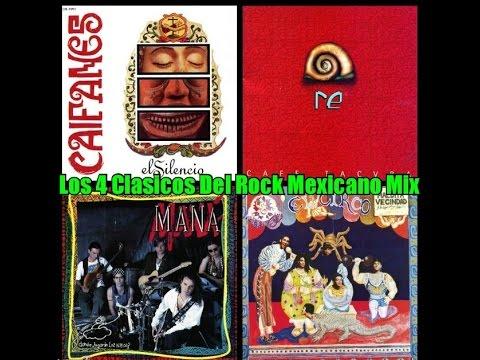 Los 4 Discos Clasicos del Rock Mexicano Mix - Caifanes, Cafe Tacvba, Mana, La Maldita Vecindad