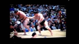 妙義龍vs栃ノ心 平成27年大相撲春場所 Myogiryu vs Tochinoshin SUMO.