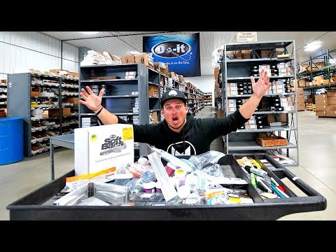 How to Make MILLIONS of Fishing Lures!!! --Do-It Facility Tour