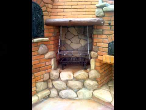Ogrodowe I Wewnętrzne Grille Z Kamienia