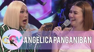 "Angelica Panganiban tests her luck on ""Charot Cards"" 