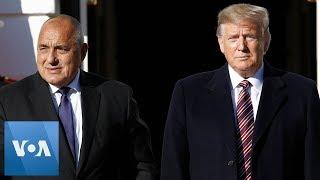 President Trump Welcomes Bulgarian PM Borissov to the White House