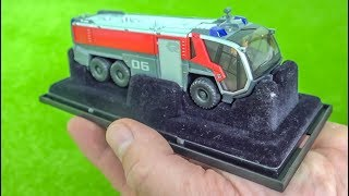 Awesome micro scale RC Firefighter Truck gets unboxed and tested!