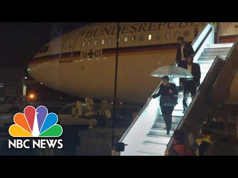 Germany's Angela Merkel Grounded By Inflight Scare On Way To G-20   NBC News