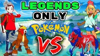 We Catch RANDOM LEGEΝDARY POKEMON... Then We FIGHT!! - Pokemon Sword and Shield