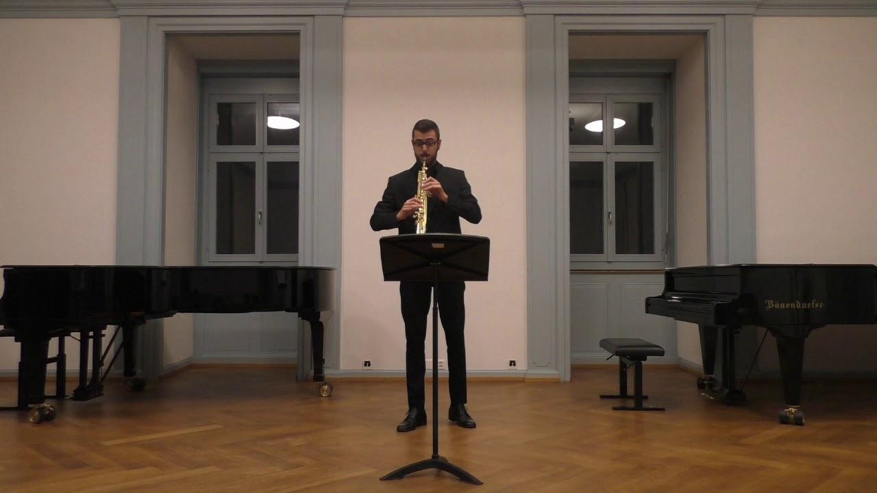 C. P. E Bach Sonata senza Basso in A minor, H. 562:  I. Adagio