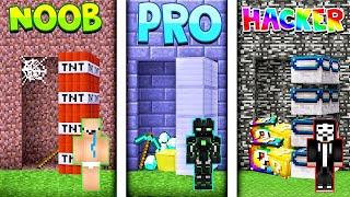 Minecraft NOOB VS PRO VS HACKER- Tajna Baza W Minecraft!