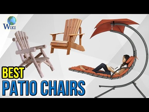 10 Best Patio Chairs 2017
