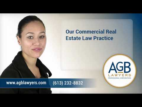 Ottawa Commercial Real Estate Lawyers - AGB Lawyers