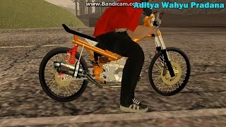GTA San Andreas [UPDATE LINK MOD] Setting Motor Supra Drag by Aditya Wahyu GTASAModding