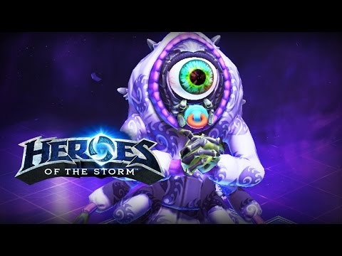 ♥ Heroes of the Storm (Gameplay) - Abathur The Brave