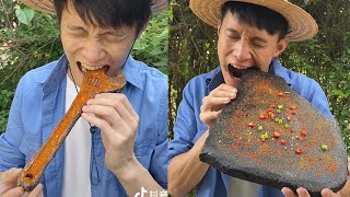 ASMR  Collection of Challenges to Eat Spicy Food - Chinese Food #6