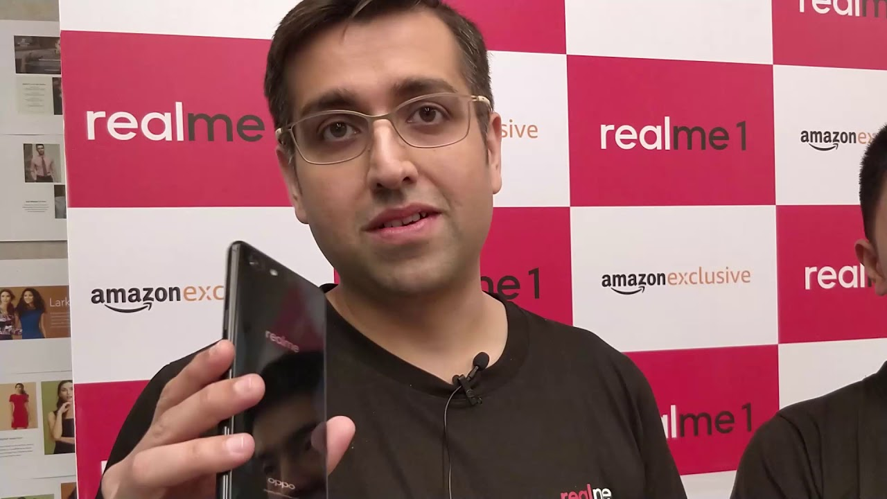 Realme 1 Launch: Madhav Seth, Chief Executive Officer, Realme India