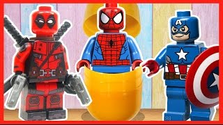 Киндер Сюрприз. Лего Супергерои. Kinder Surprise. Lego Superheroes.