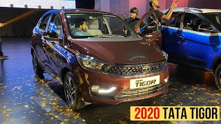 BS-6 2020 Tata Tigor Facelift??Launched | Prices, Variants, Colours | PR Moto Vlogs