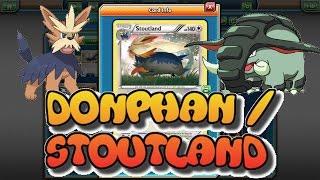 EXPANDED Stoutland / Donphan Deck: Pokemon TCGO (PTCGO)