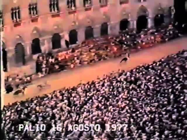 Palio 16 agosto 1977